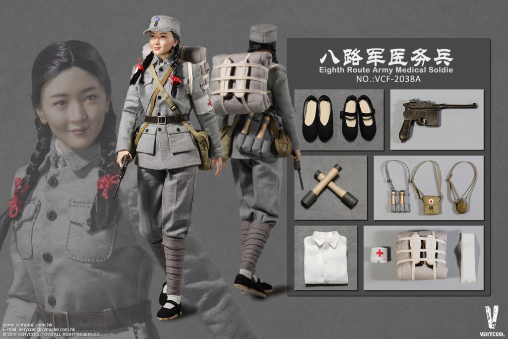 NEW PRODUCT: VERYCOOL: 1/6 National Revolutionary Army Eighth Route Army-Medical Standards & Double-headed Collector's Edition VCF-2038 17161110