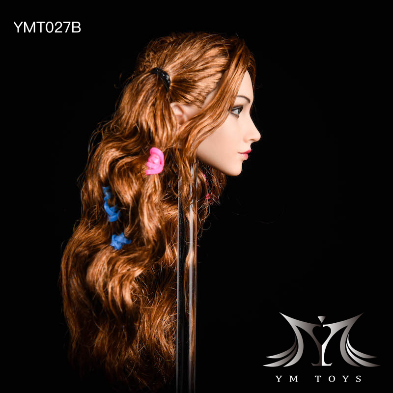 NEW PRODUCT: YMTOYS: 1/6 head carving jasmine hair female head carving - a total of four hair style YMT027 17164010
