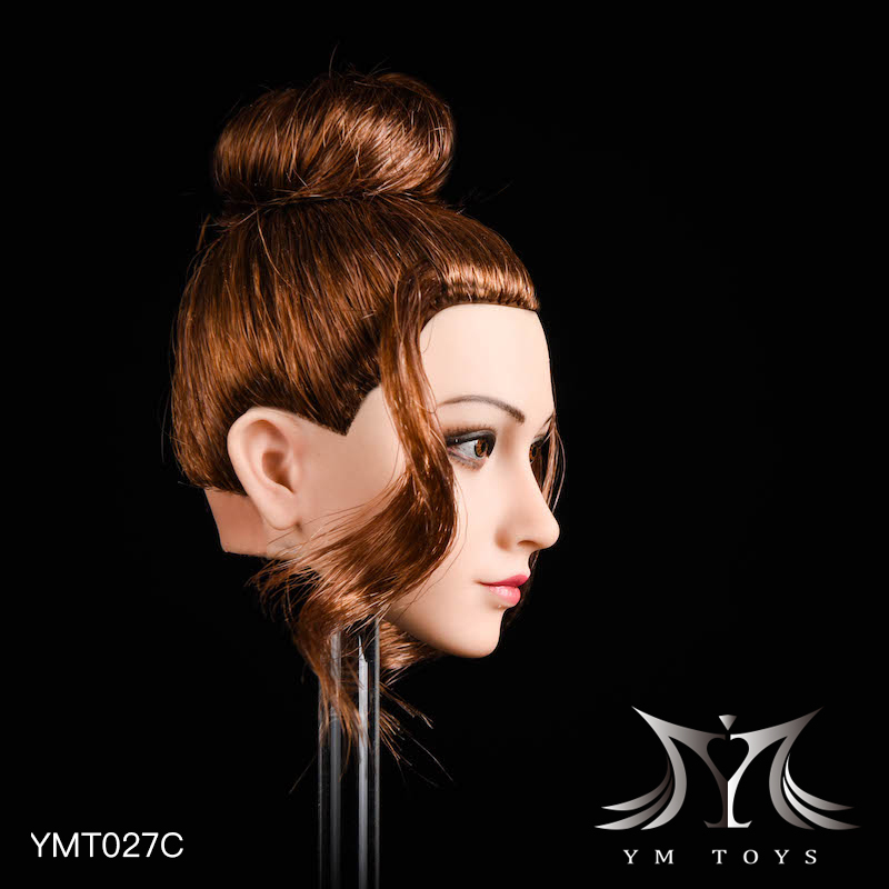 NEW PRODUCT: YMTOYS: 1/6 head carving jasmine hair female head carving - a total of four hair style YMT027 17164211