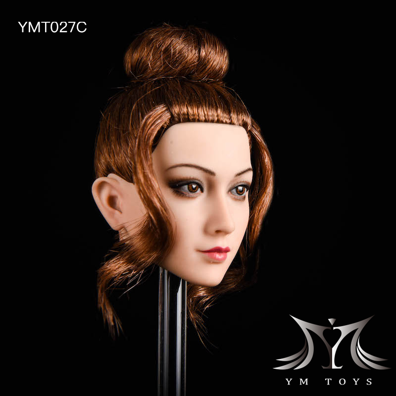 NEW PRODUCT: YMTOYS: 1/6 head carving jasmine hair female head carving - a total of four hair style YMT027 17164710