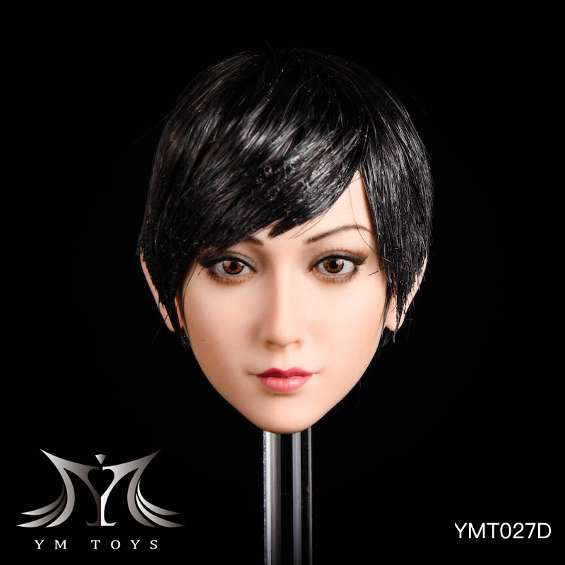NEW PRODUCT: YMTOYS: 1/6 head carving jasmine hair female head carving - a total of four hair style YMT027 17164711