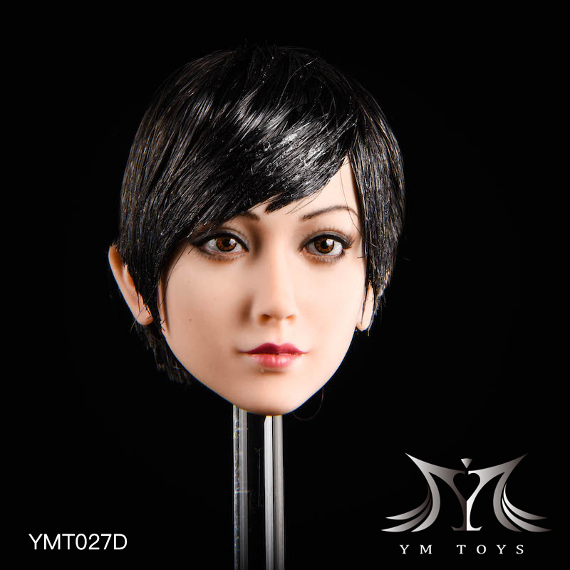 NEW PRODUCT: YMTOYS: 1/6 head carving jasmine hair female head carving - a total of four hair style YMT027 17164911