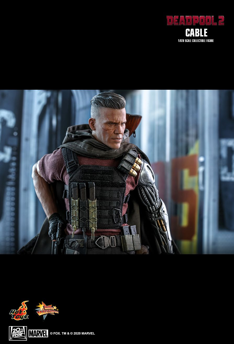 NEW PRODUCT: HOT TOYS: DEADPOOL 2 CABLE 1/6TH SCALE COLLECTIBLE FIGURE 17179