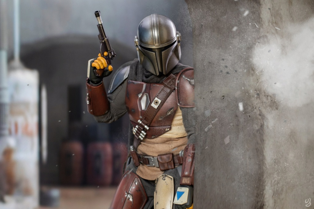 StarWars - NEW PRODUCT: HOT TOYS: THE MANDALORIAN -- THE MANDALORIAN 1/6TH SCALE COLLECTIBLE FIGURE 17183
