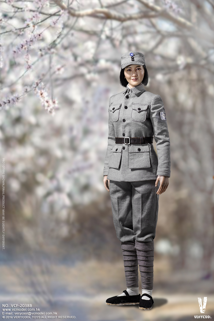 NEW PRODUCT: VERYCOOL: 1/6 National Revolutionary Army Eighth Route Army-Medical Standards & Double-headed Collector's Edition VCF-2038 17184610