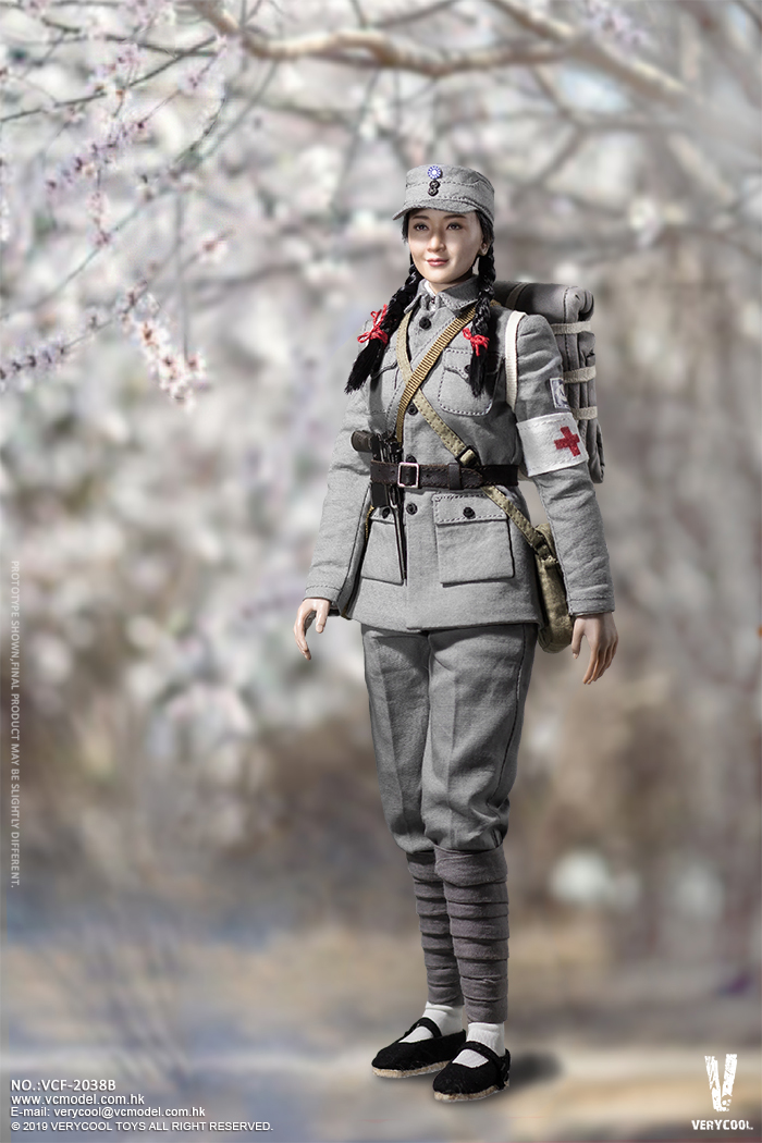 NEW PRODUCT: VERYCOOL: 1/6 National Revolutionary Army Eighth Route Army-Medical Standards & Double-headed Collector's Edition VCF-2038 17184910
