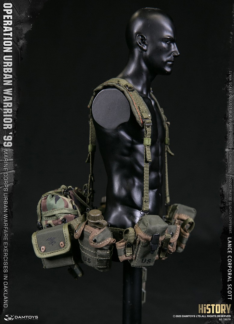MarineCorps - NEW PRODUCT: DAMToys: 1/6 '99 City Warrior Operation-Marine Corps Oakland City Battle Exercise - Lance Corporal Scott #78079 17186