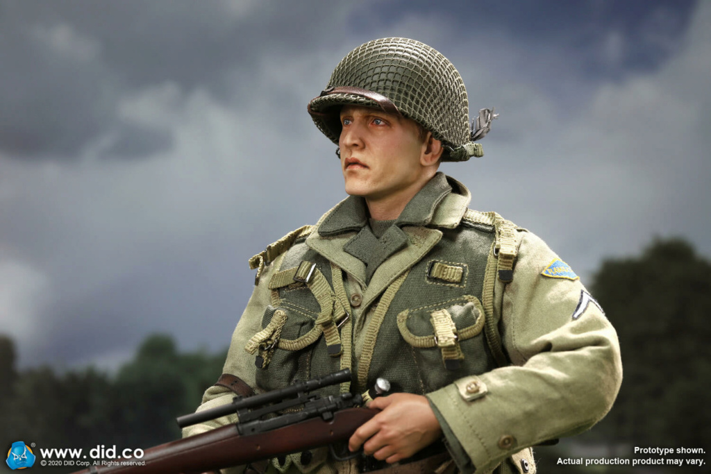 DiD - NEW PRODUCT: DiD: A80144 WWII US 2nd Ranger Battalion Series 4 Private Jackson 17199