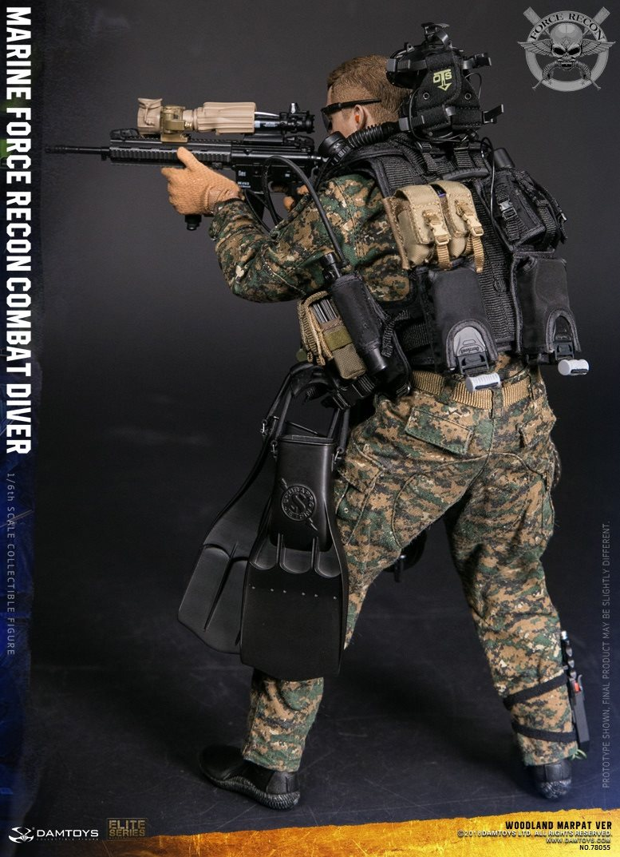 DamToys - NEW PRODUCT: DAM Toys: Marine Force Recon Combat Diver (Desert MARPAT) (GIDAM-78056) & (Woodland MARPAT) (GIDAM-78055) 1722