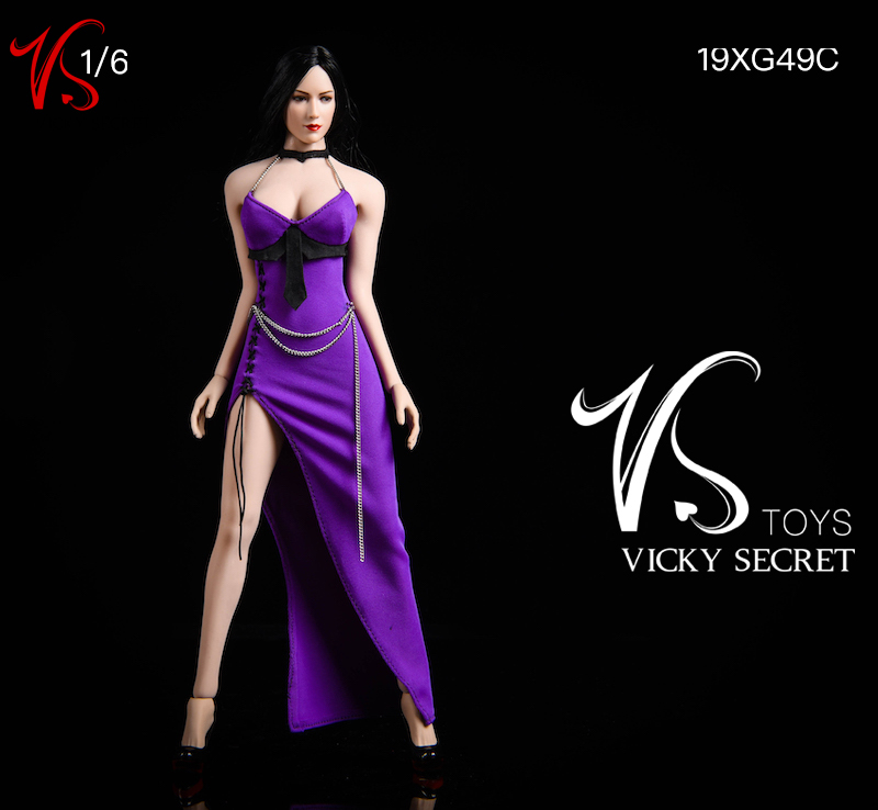female - NEW PRODUCT: VSTOYS: 1/6 Dinner Dress & Trendy Shirt Tights Set & Caribbean Short Skirt Set 17234511