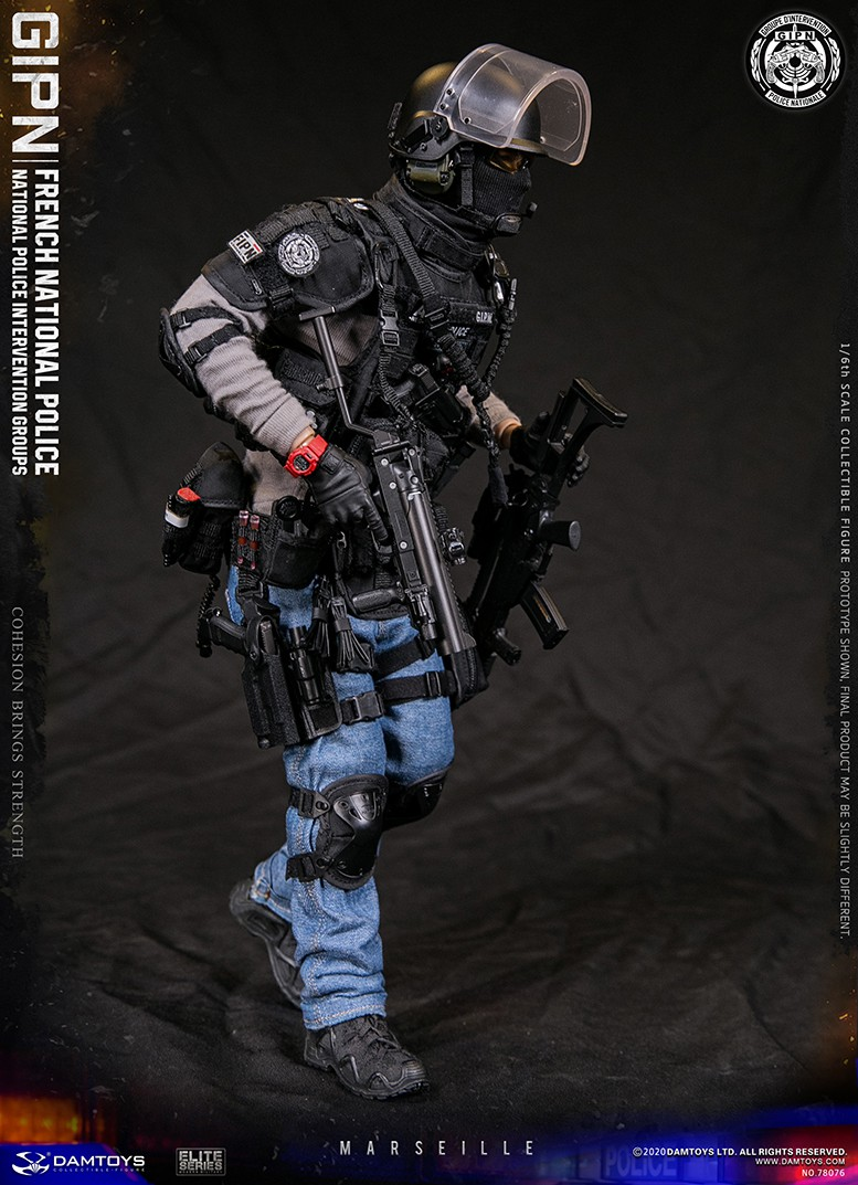 ModernMilitary - NEW PRODUCT: DAMTOYS: GIPN French National Police intervention team Marseille 17311110