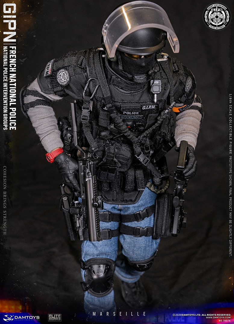 ModernMilitary - NEW PRODUCT: DAMTOYS: GIPN French National Police intervention team Marseille 17312210