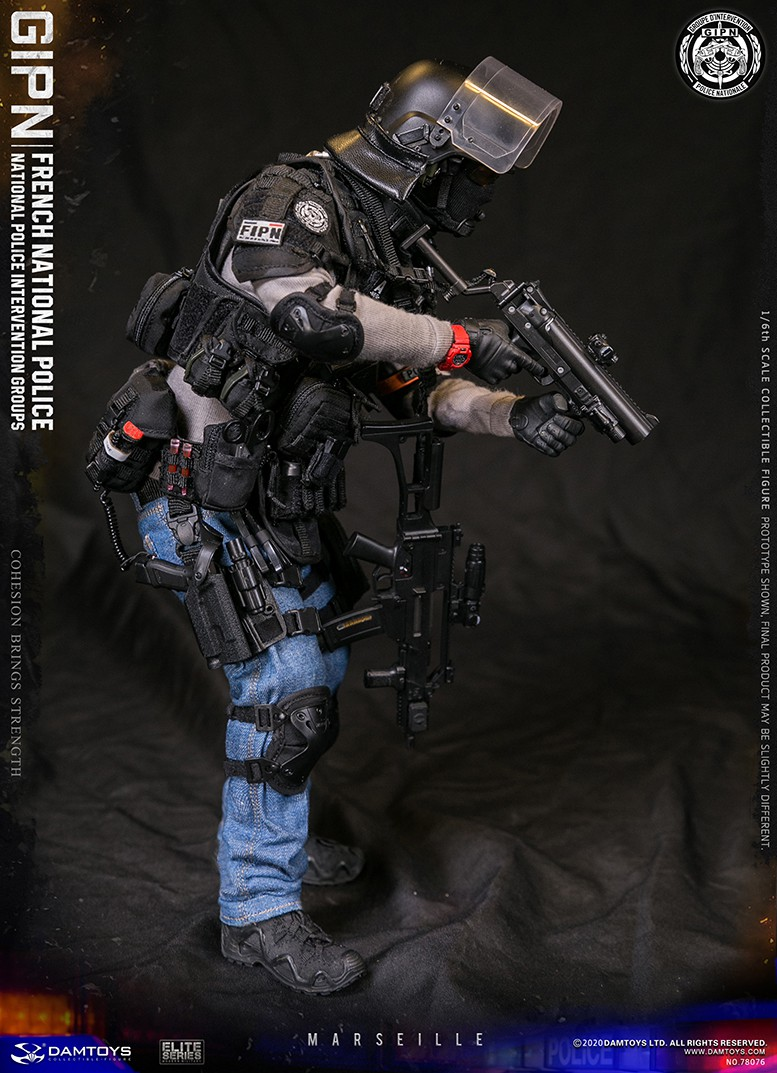 ModernMilitary - NEW PRODUCT: DAMTOYS: GIPN French National Police intervention team Marseille 17320710