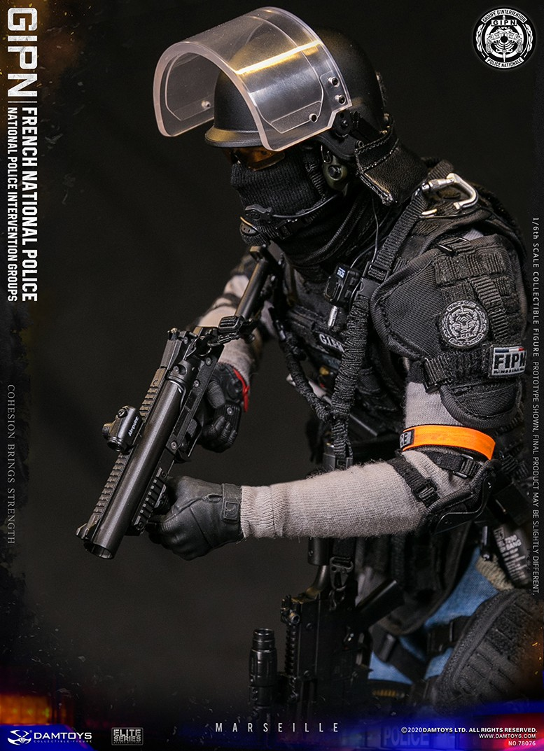 ModernMilitary - NEW PRODUCT: DAMTOYS: GIPN French National Police intervention team Marseille 17331810