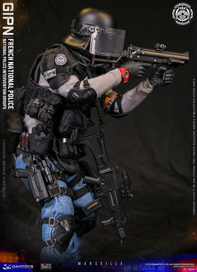 ModernMilitary - NEW PRODUCT: DAMTOYS: GIPN French National Police intervention team Marseille 17334910