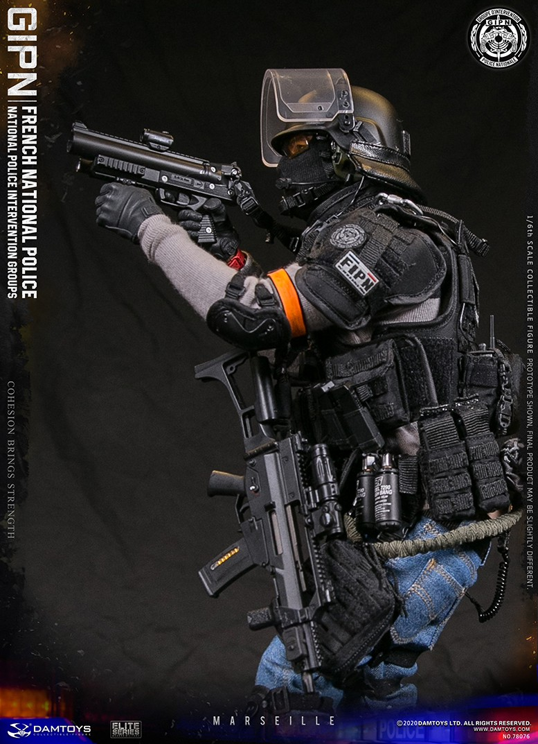 ModernMilitary - NEW PRODUCT: DAMTOYS: GIPN French National Police intervention team Marseille 17341111