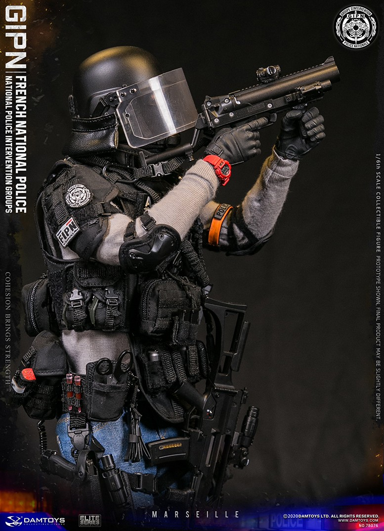 ModernMilitary - NEW PRODUCT: DAMTOYS: GIPN French National Police intervention team Marseille 17342311