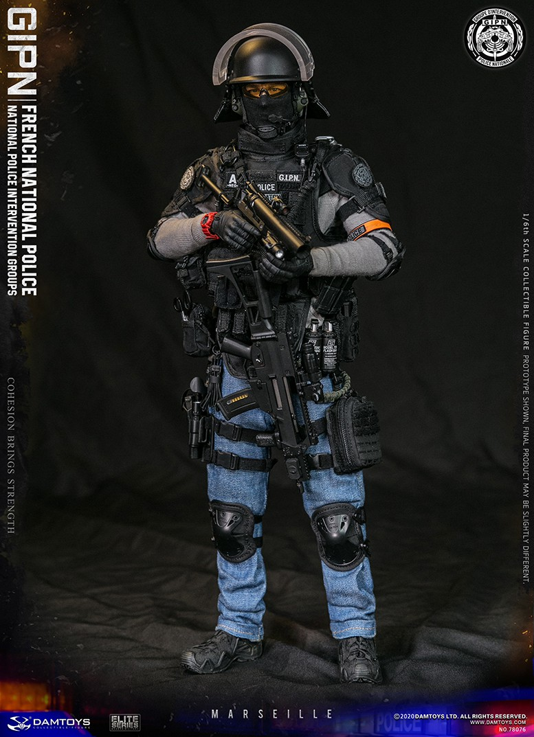 ModernMilitary - NEW PRODUCT: DAMTOYS: GIPN French National Police intervention team Marseille 17363610