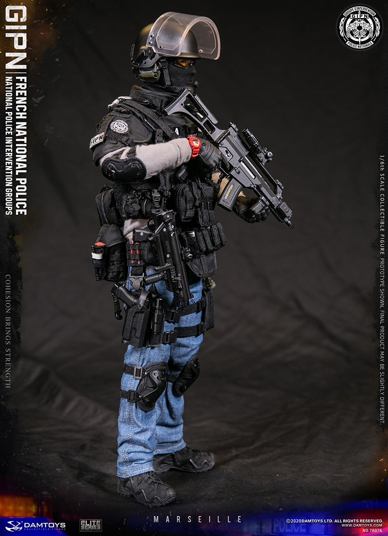 ModernMilitary - NEW PRODUCT: DAMTOYS: GIPN French National Police intervention team Marseille 17372010