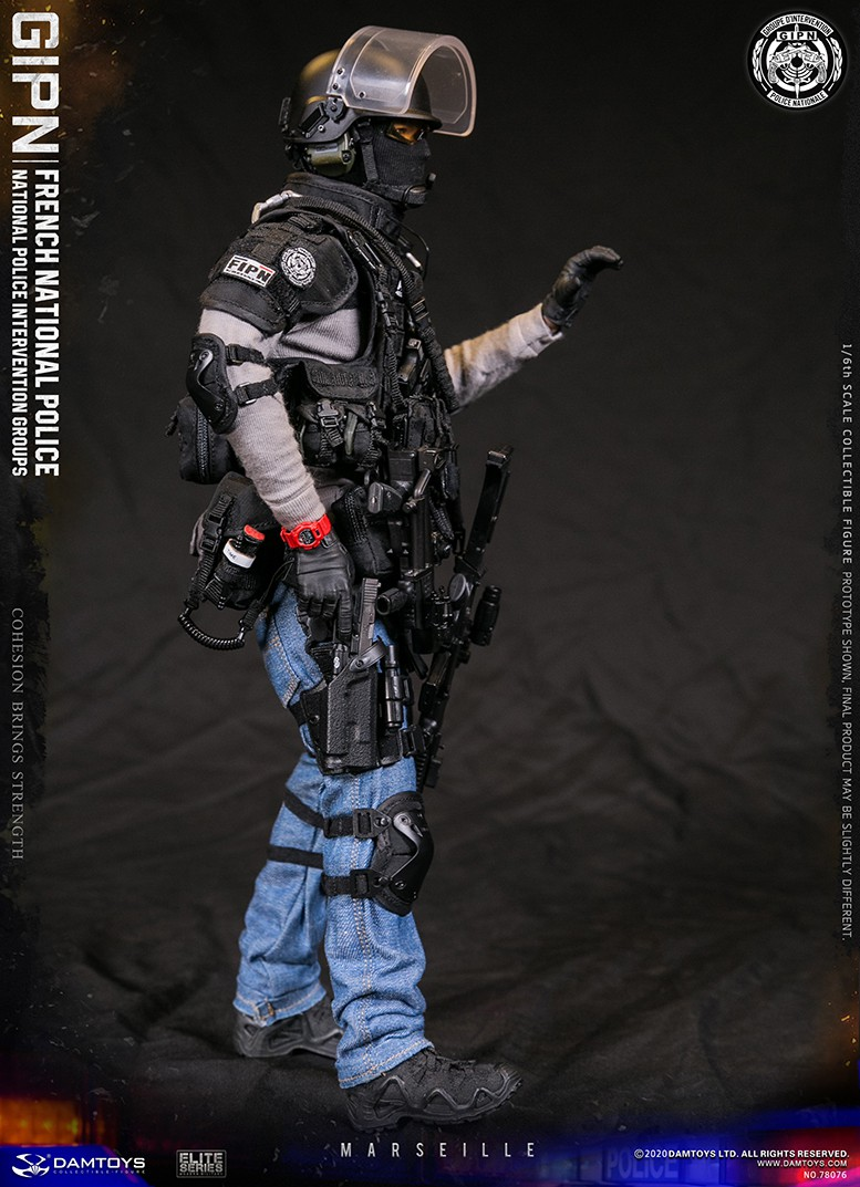 ModernMilitary - NEW PRODUCT: DAMTOYS: GIPN French National Police intervention team Marseille 17374711
