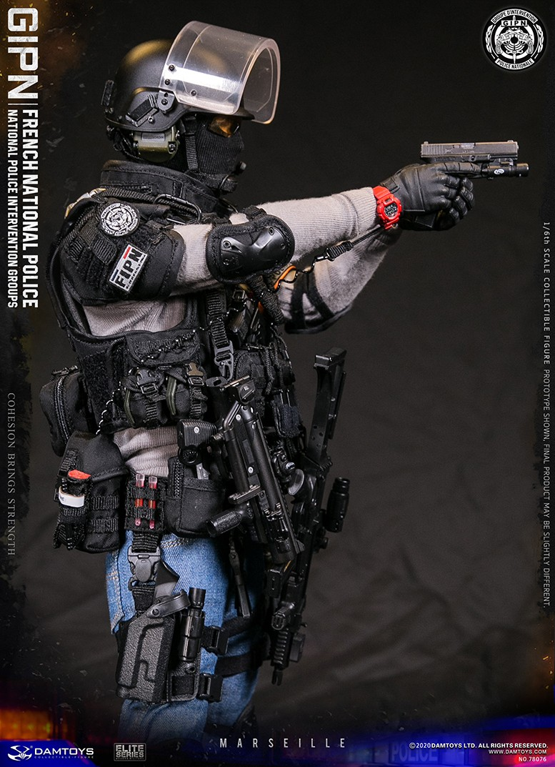 ModernMilitary - NEW PRODUCT: DAMTOYS: GIPN French National Police intervention team Marseille 17375610