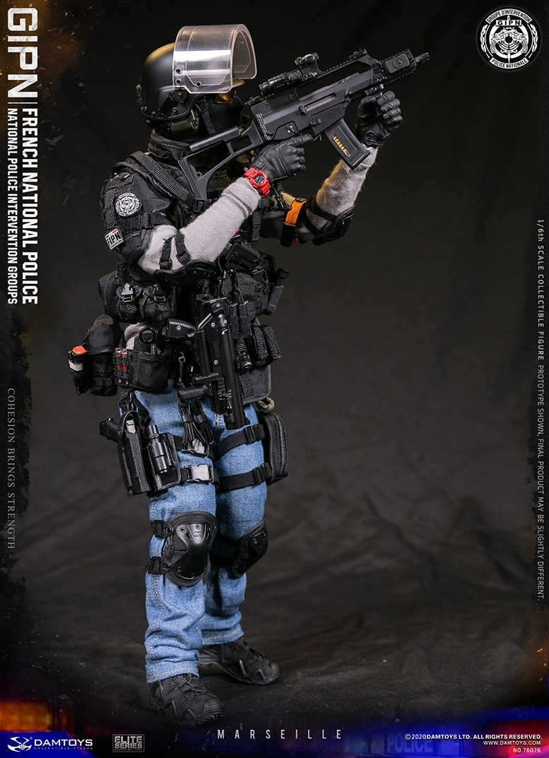 ModernMilitary - NEW PRODUCT: DAMTOYS: GIPN French National Police intervention team Marseille 17380210
