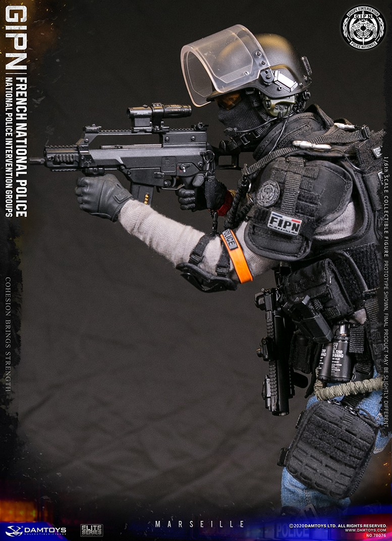 ModernMilitary - NEW PRODUCT: DAMTOYS: GIPN French National Police intervention team Marseille 17383810