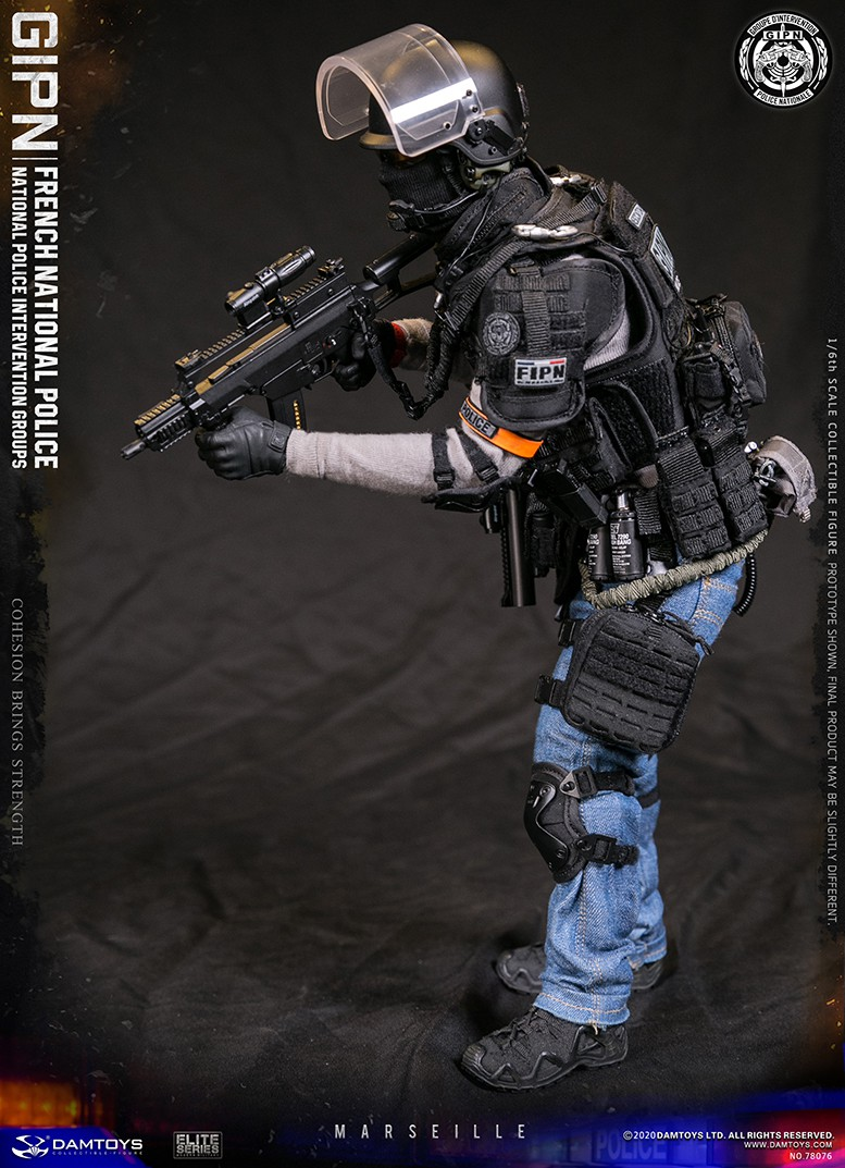 ModernMilitary - NEW PRODUCT: DAMTOYS: GIPN French National Police intervention team Marseille 17390310