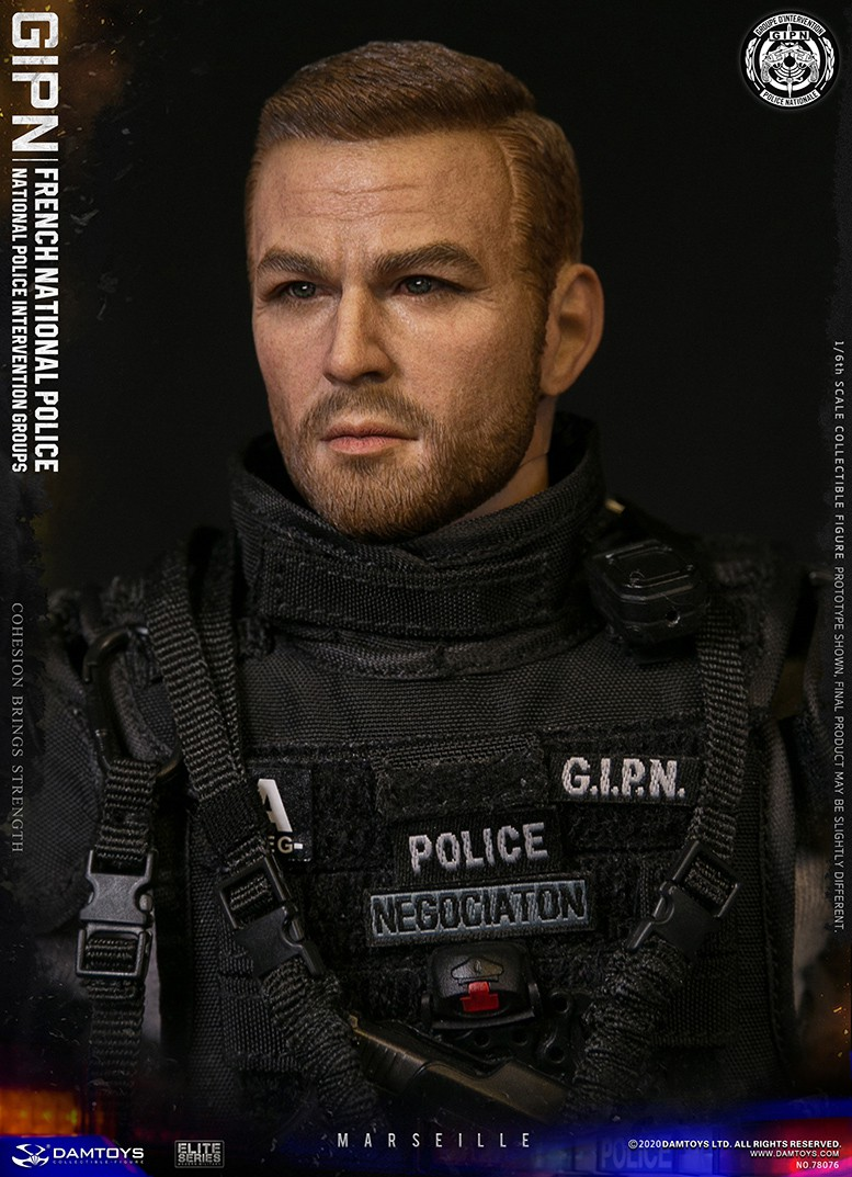 ModernMilitary - NEW PRODUCT: DAMTOYS: GIPN French National Police intervention team Marseille 17393110