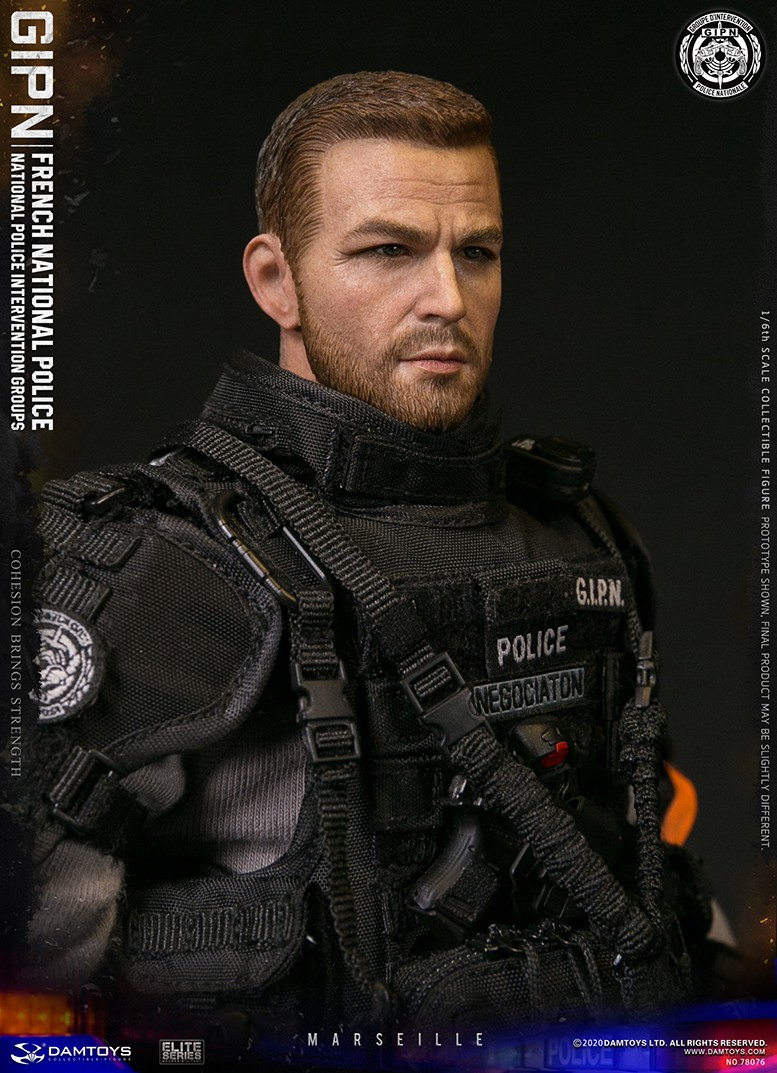 ModernMilitary - NEW PRODUCT: DAMTOYS: GIPN French National Police intervention team Marseille 17394310