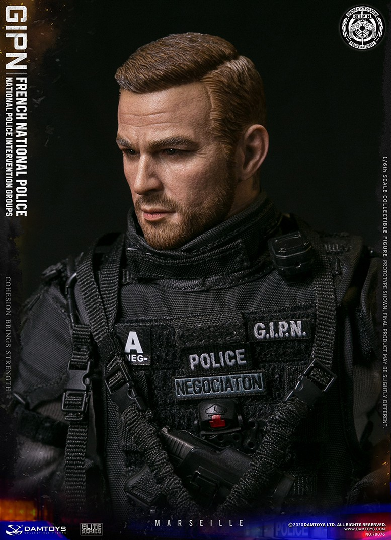 ModernMilitary - NEW PRODUCT: DAMTOYS: GIPN French National Police intervention team Marseille 17400510