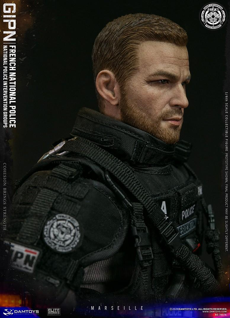 ModernMilitary - NEW PRODUCT: DAMTOYS: GIPN French National Police intervention team Marseille 17401110