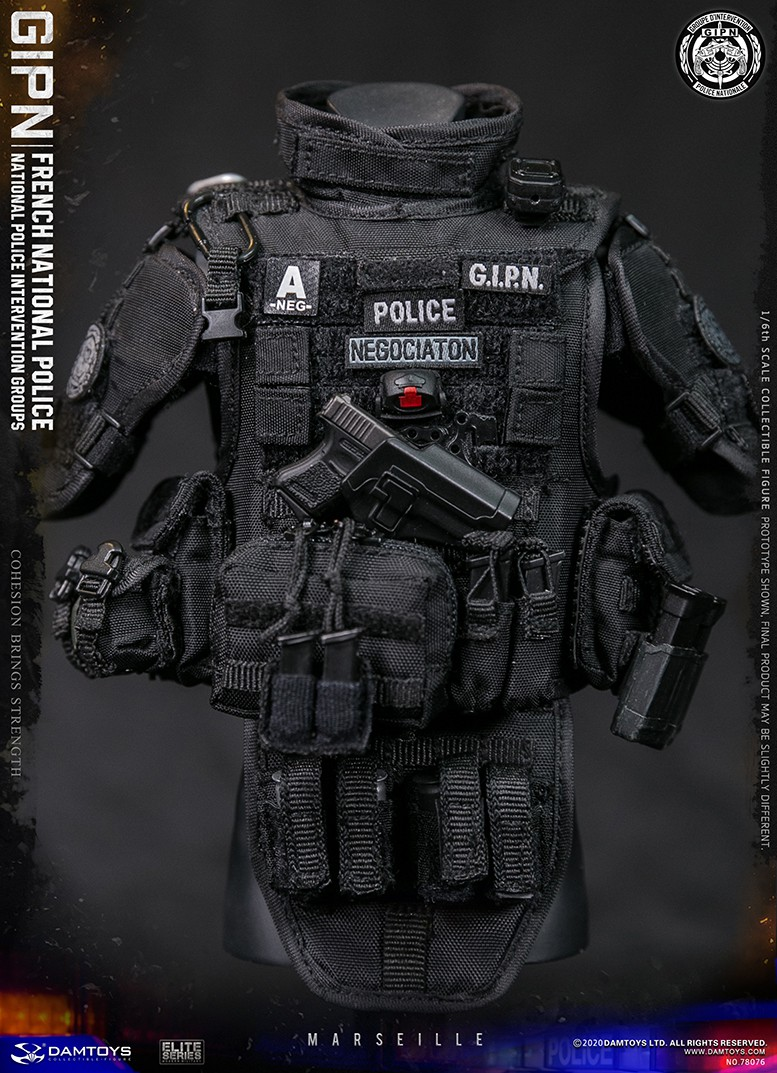ModernMilitary - NEW PRODUCT: DAMTOYS: GIPN French National Police intervention team Marseille 17402710