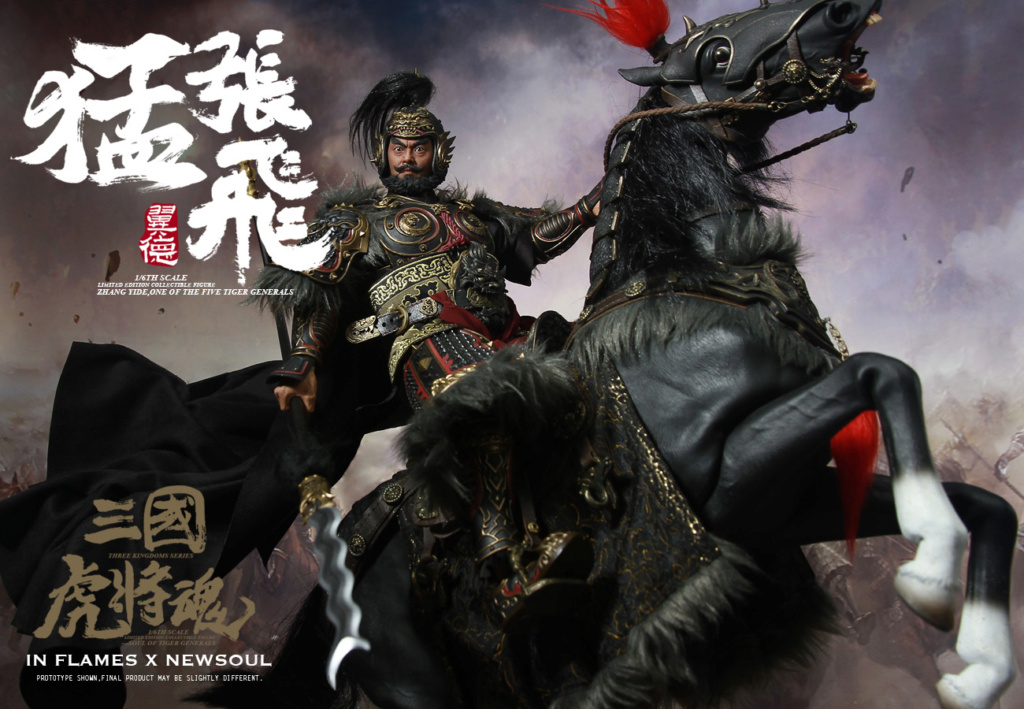 military - NEW PRODUCT: IN FLAMES: 1/6 Meng Zhangfei (single & set) upgrade reprint & feedback important information of customers who have purchased 17403310