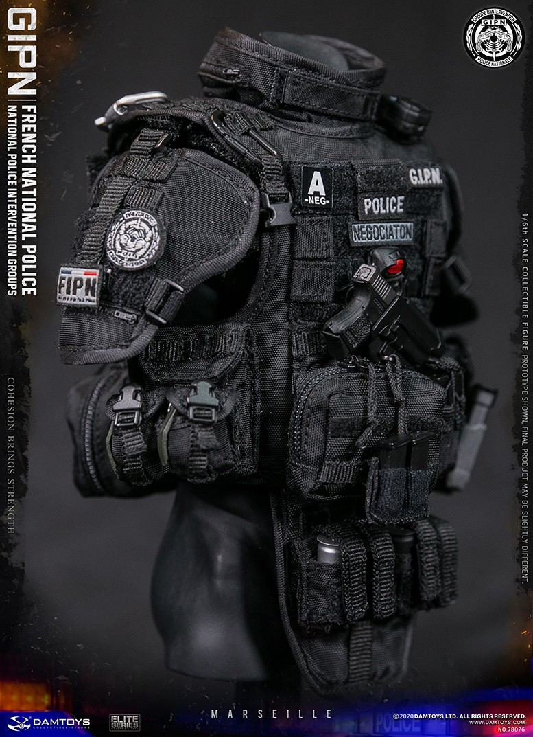 ModernMilitary - NEW PRODUCT: DAMTOYS: GIPN French National Police intervention team Marseille 17403311