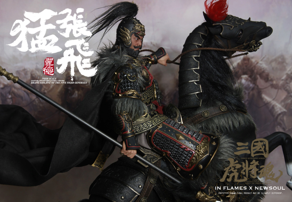 military - NEW PRODUCT: IN FLAMES: 1/6 Meng Zhangfei (single & set) upgrade reprint & feedback important information of customers who have purchased 17403410
