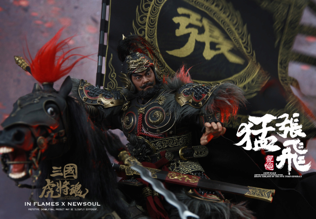 military - NEW PRODUCT: IN FLAMES: 1/6 Meng Zhangfei (single & set) upgrade reprint & feedback important information of customers who have purchased 17403610