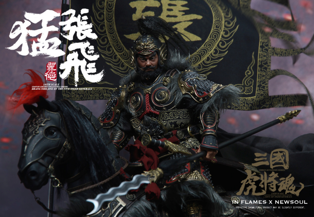 military - NEW PRODUCT: IN FLAMES: 1/6 Meng Zhangfei (single & set) upgrade reprint & feedback important information of customers who have purchased 17404010