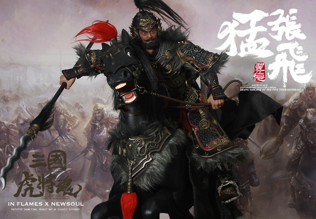 military - NEW PRODUCT: IN FLAMES: 1/6 Meng Zhangfei (single & set) upgrade reprint & feedback important information of customers who have purchased 17404210