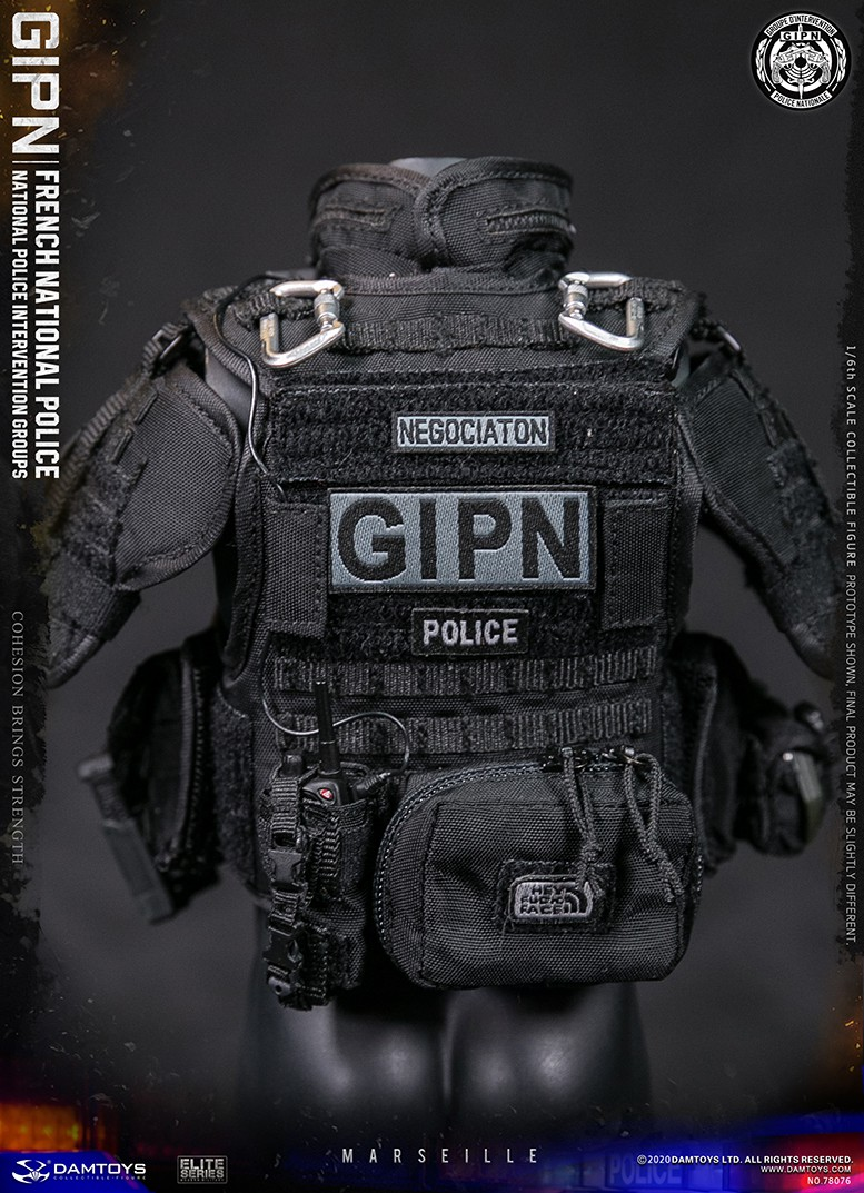ModernMilitary - NEW PRODUCT: DAMTOYS: GIPN French National Police intervention team Marseille 17404311