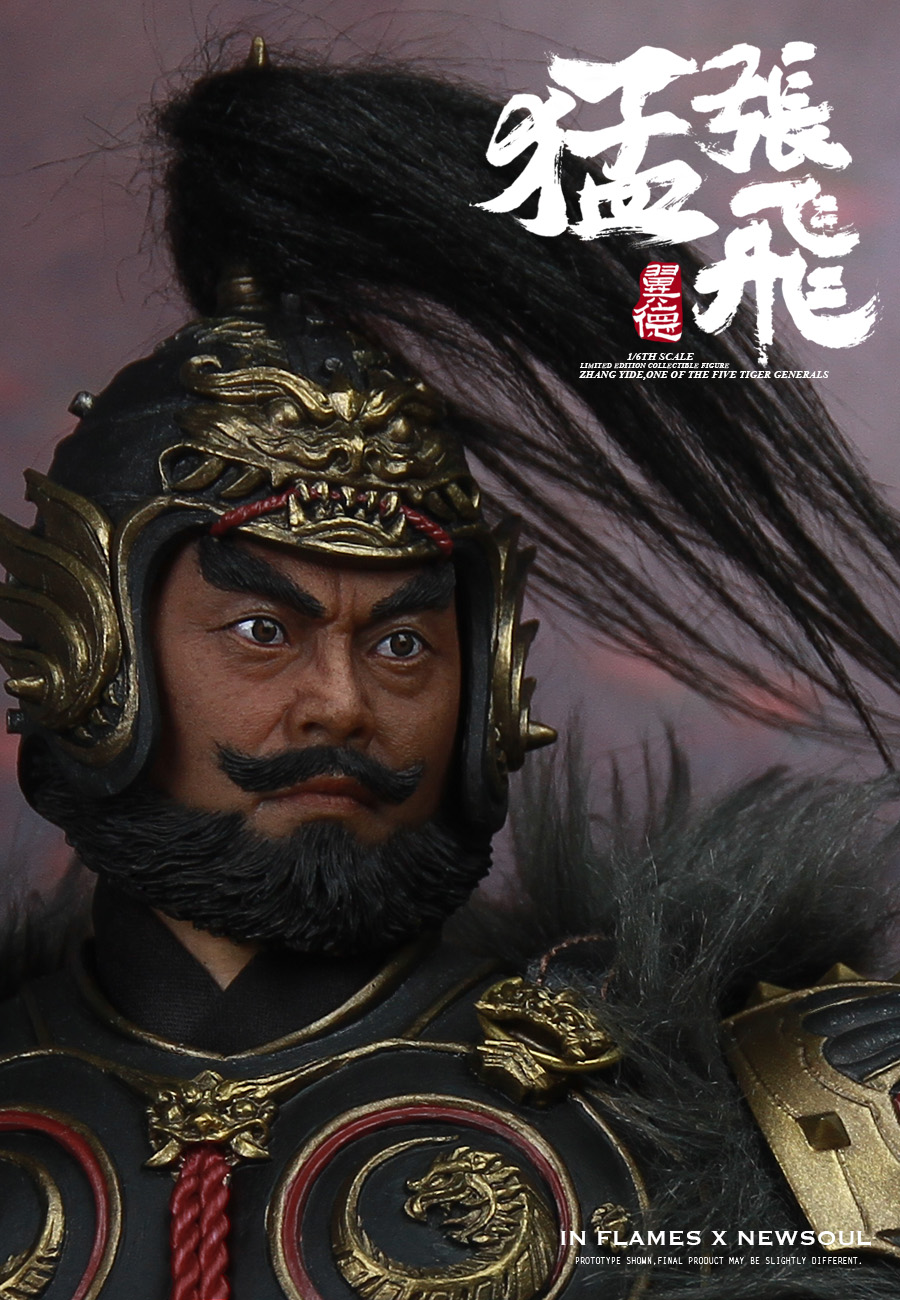 military - NEW PRODUCT: IN FLAMES: 1/6 Meng Zhangfei (single & set) upgrade reprint & feedback important information of customers who have purchased 17404410