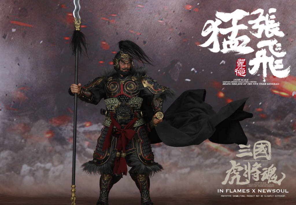 military - NEW PRODUCT: IN FLAMES: 1/6 Meng Zhangfei (single & set) upgrade reprint & feedback important information of customers who have purchased 17404610