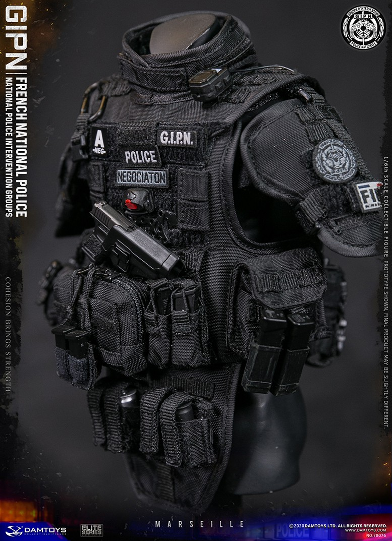ModernMilitary - NEW PRODUCT: DAMTOYS: GIPN French National Police intervention team Marseille 17404811