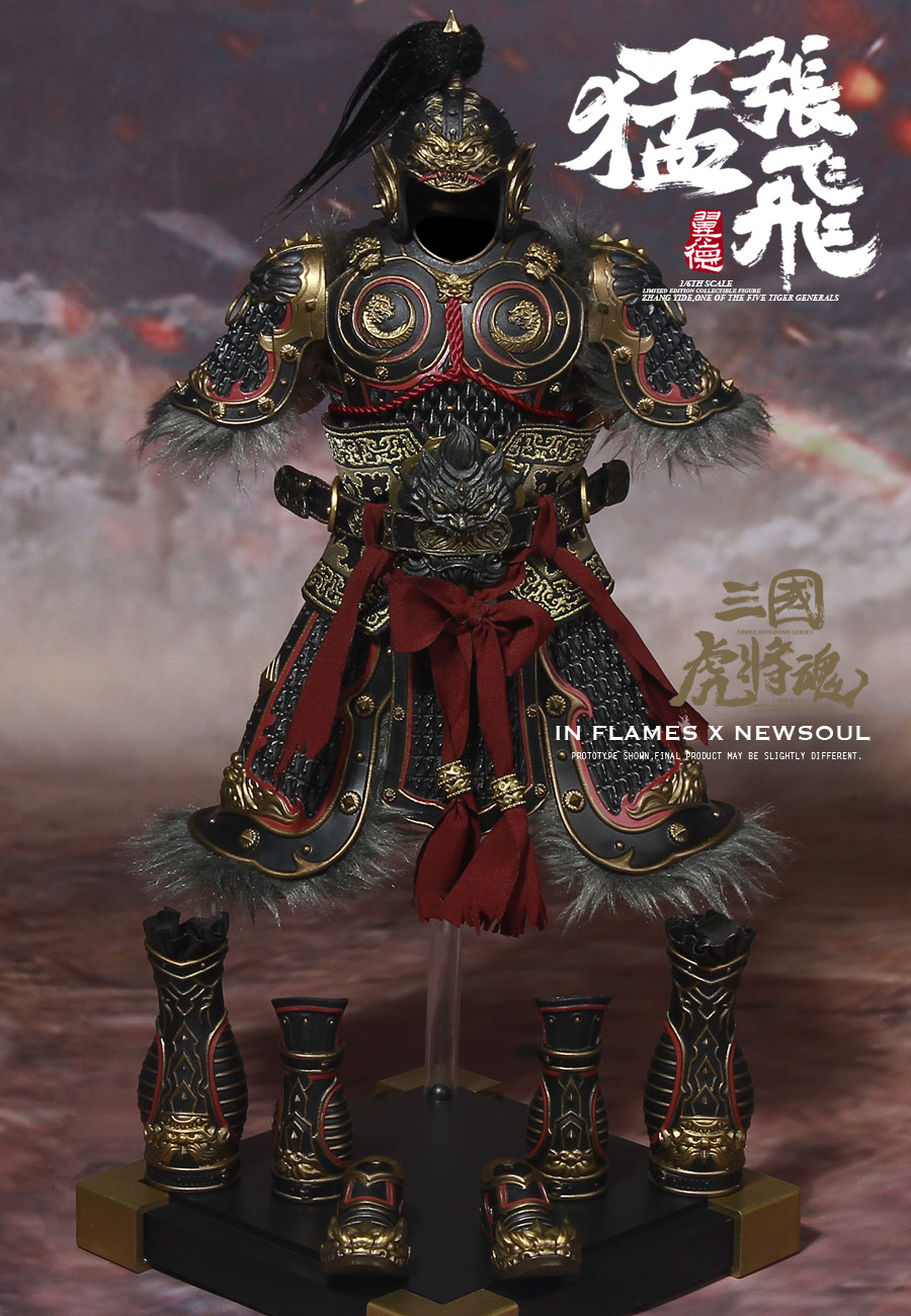 military - NEW PRODUCT: IN FLAMES: 1/6 Meng Zhangfei (single & set) upgrade reprint & feedback important information of customers who have purchased 17405110