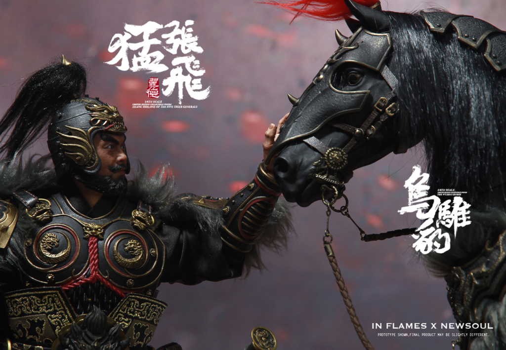 military - NEW PRODUCT: IN FLAMES: 1/6 Meng Zhangfei (single & set) upgrade reprint & feedback important information of customers who have purchased 17405410