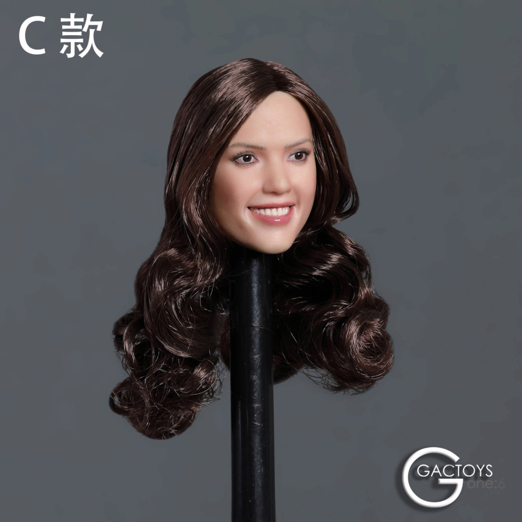 headsculpt - NEW PRODUCT: GACTOYS: 1/6 smiley beauty head carving series two [GC035] [three models A, B, C] 17405611