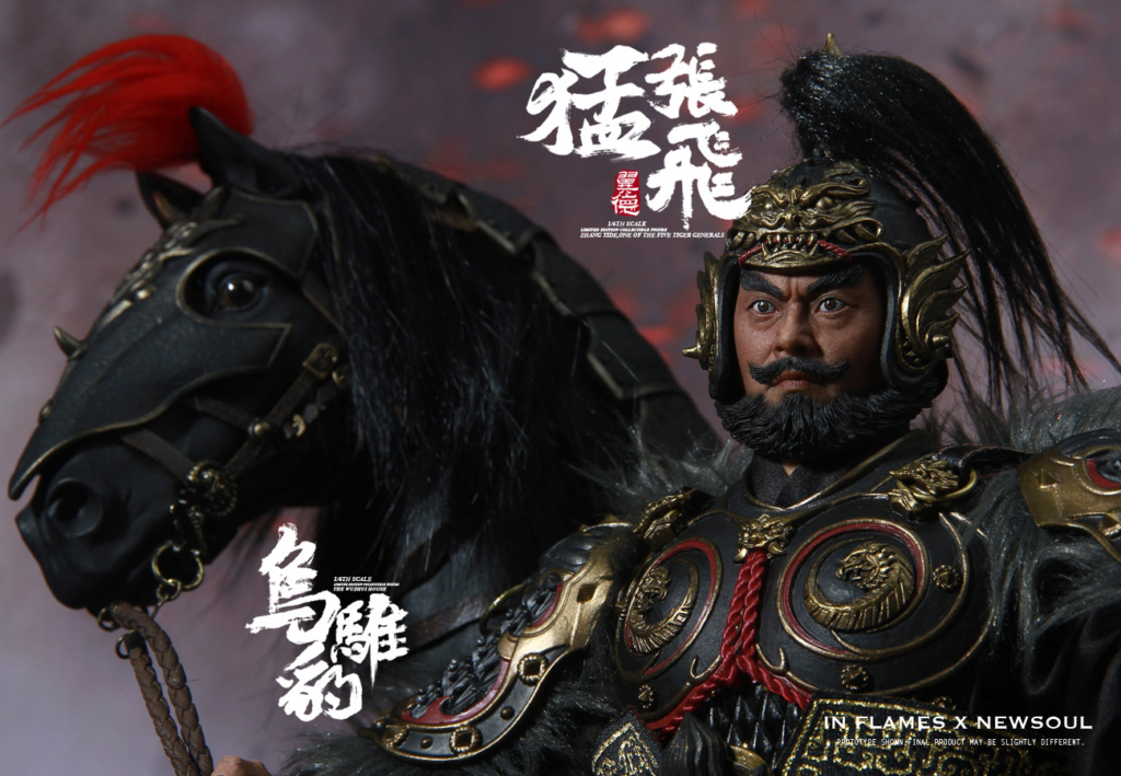 military - NEW PRODUCT: IN FLAMES: 1/6 Meng Zhangfei (single & set) upgrade reprint & feedback important information of customers who have purchased 17405710
