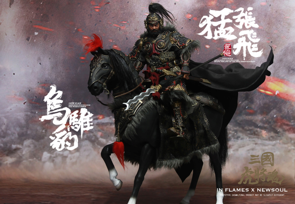 military - NEW PRODUCT: IN FLAMES: 1/6 Meng Zhangfei (single & set) upgrade reprint & feedback important information of customers who have purchased 17405810