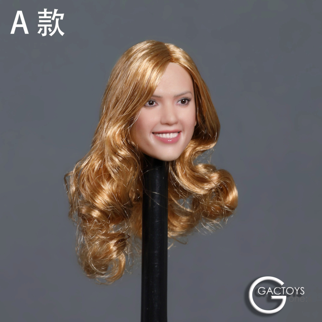 headsculpt - NEW PRODUCT: GACTOYS: 1/6 smiley beauty head carving series two [GC035] [three models A, B, C] 17410311