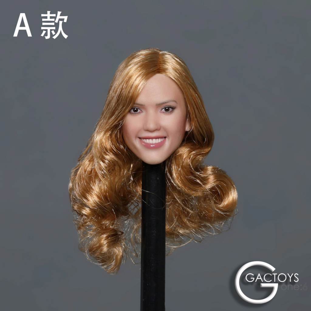 headsculpt - NEW PRODUCT: GACTOYS: 1/6 smiley beauty head carving series two [GC035] [three models A, B, C] 17410411